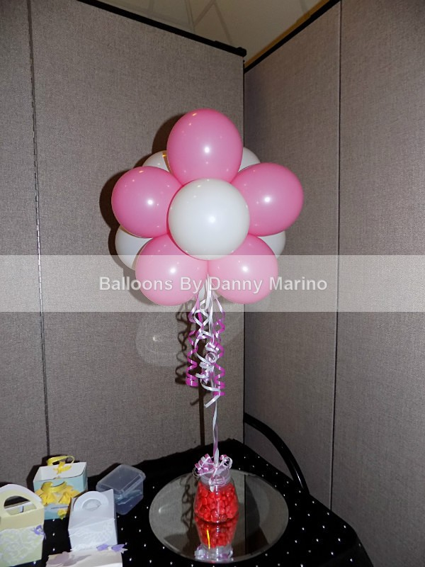 Floral Table centre - Our Balloons