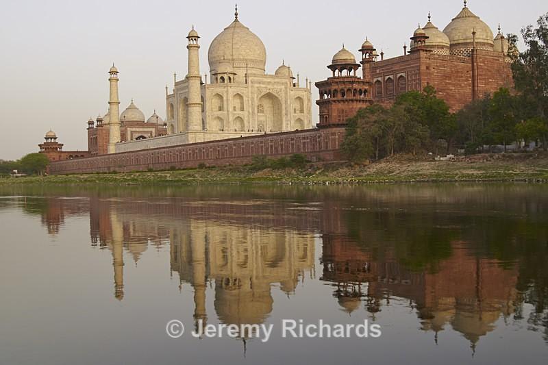 Taj Mahal at Dusk - India