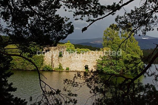 Loch Eilein Castle - Rothiemurchus Forest - Scotland