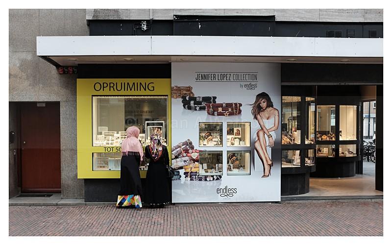 Window shopping - Rotterdam