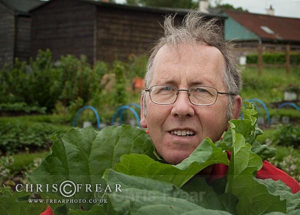 Rhubarb Man - Allotment Faces