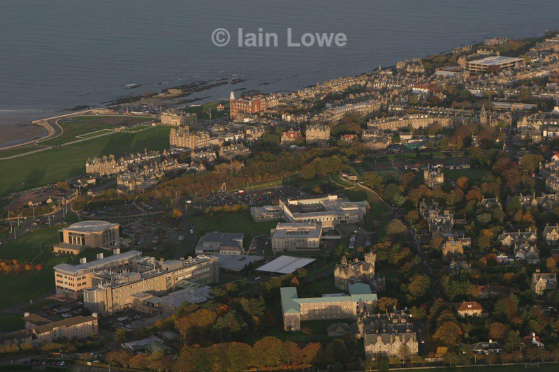 - St Andrews Town Aerial