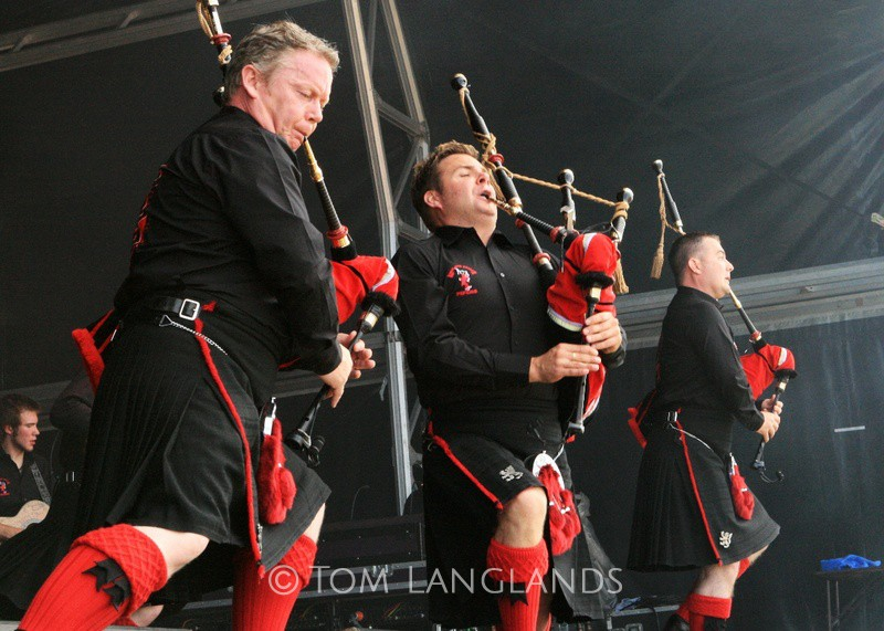 Red Hot Chilli Pipers - Events
