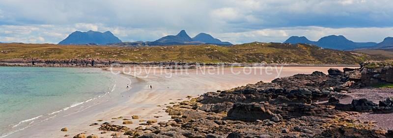 Achnahaird Bay, Highland - Panoramic format
