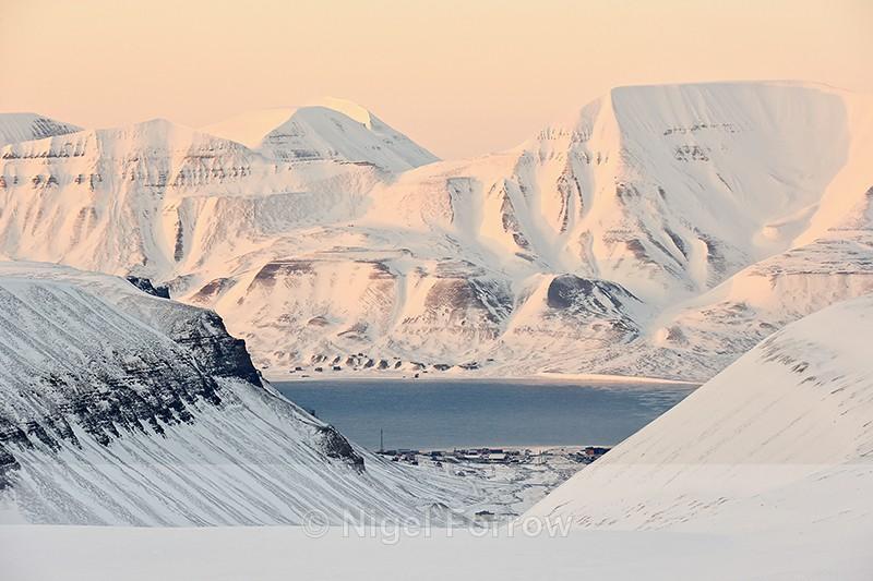 View of Longyearbyen, Svalbard, Norway - Svalbard, Norway