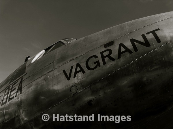 'Vagrant' - in the air