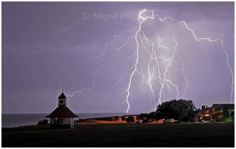 Striking Display Frinton - Dramatic Weather