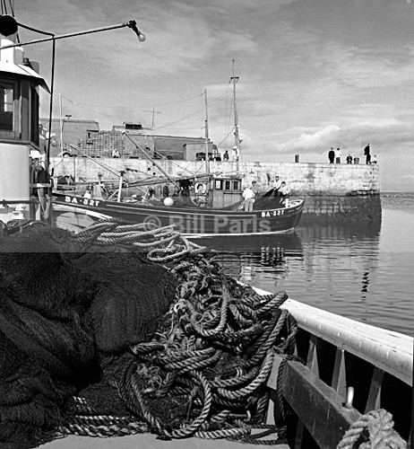 Harbour Girvan. - Archive.