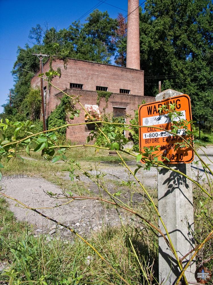Henryton State Hospital   Warning Sign - Henryton State Hospital