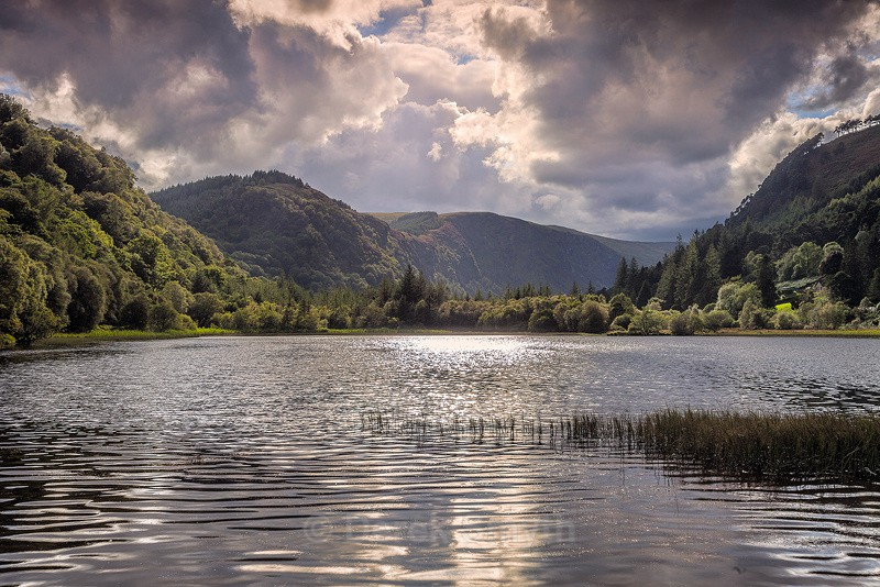 Lower Lake - Glendalough Valley in Wicklow