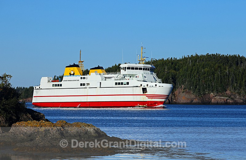 Grand Manan Car Ferry - Boats