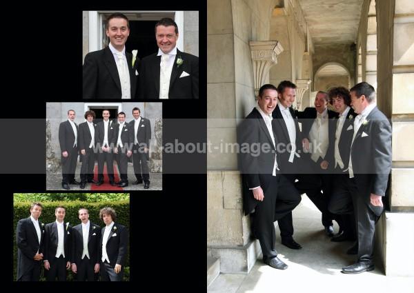 7 wedding album layout, norfolk wedding photographer - Albums & Books