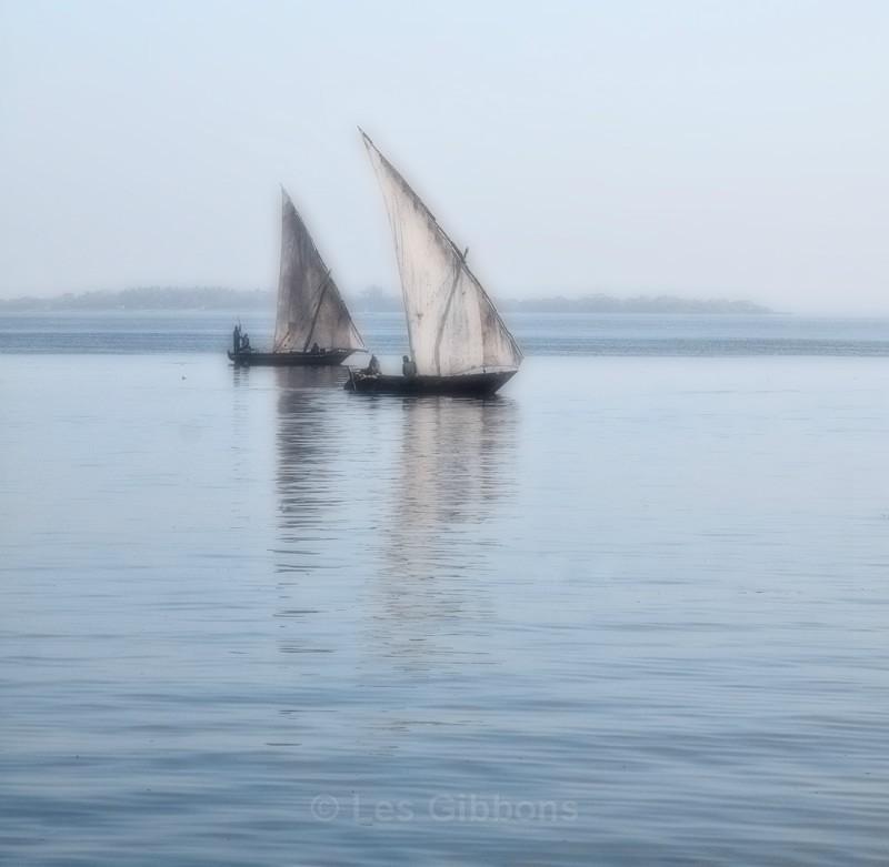 two boats - Zanzibar