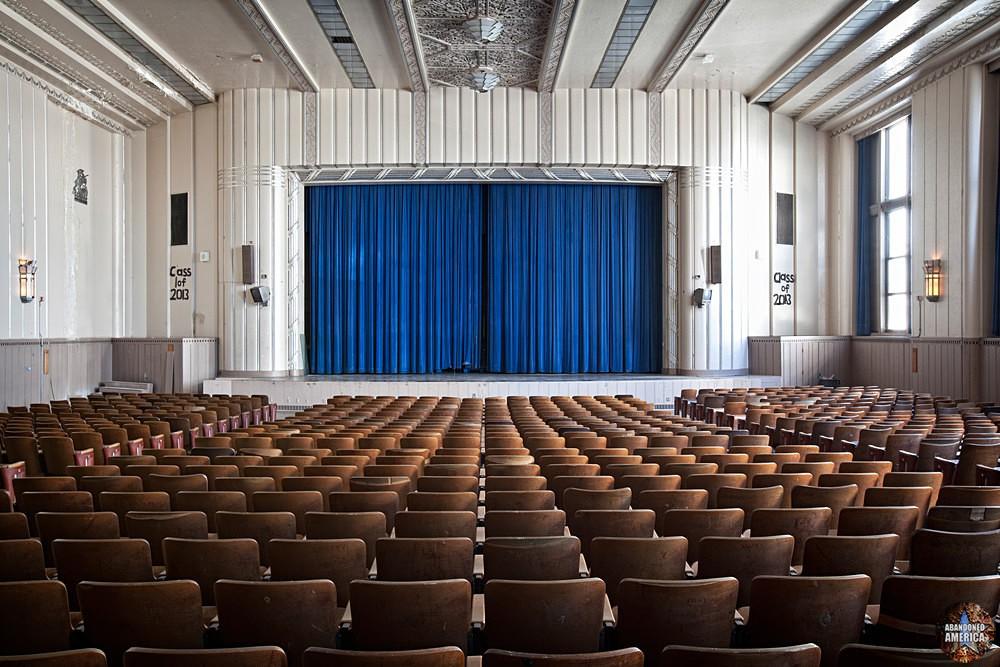 Bok Technical School (Philadelphia, PA) | Auditorium Stage - Edward M. Bok Technical School