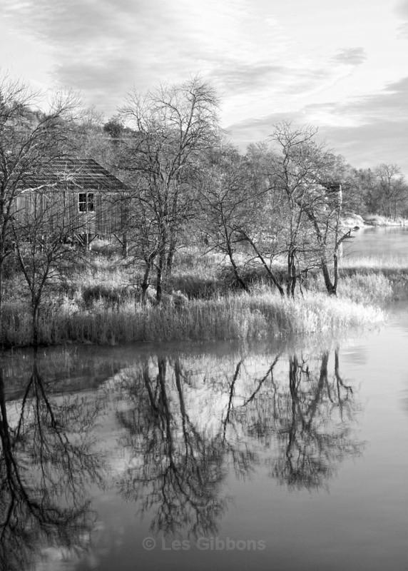 boathouse bw - New Brunswick