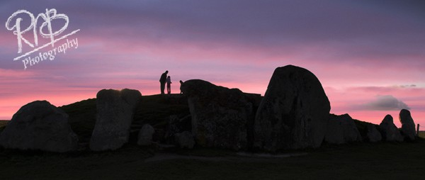 Watching The Sunset - Wiltshire & West Country Landscapes