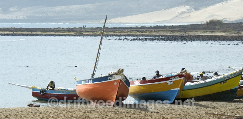 Cape Verde Islands fishing boats - Cape Verde Islands