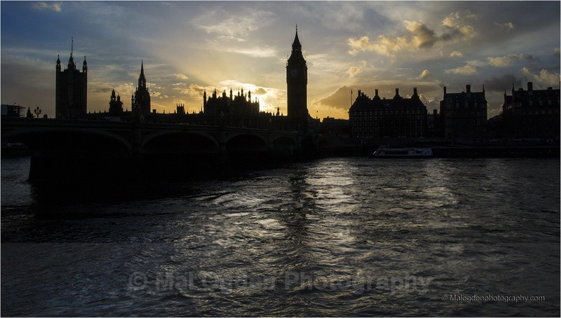 Sunset on the HP - Britain and the British