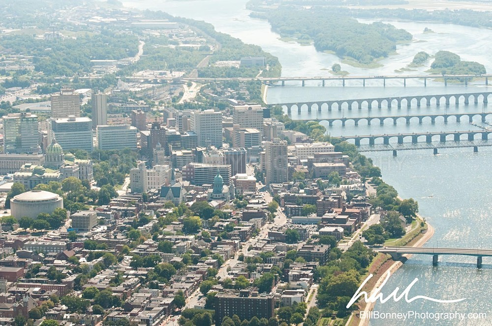 Harrisburg PA Aerial - Harrisburg Area, Pennsylvania