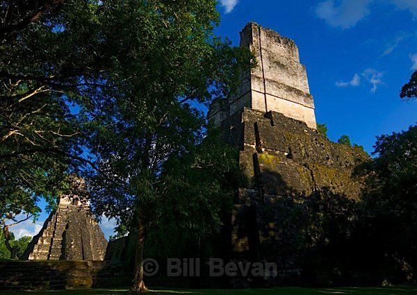Facing Temples - Tikal