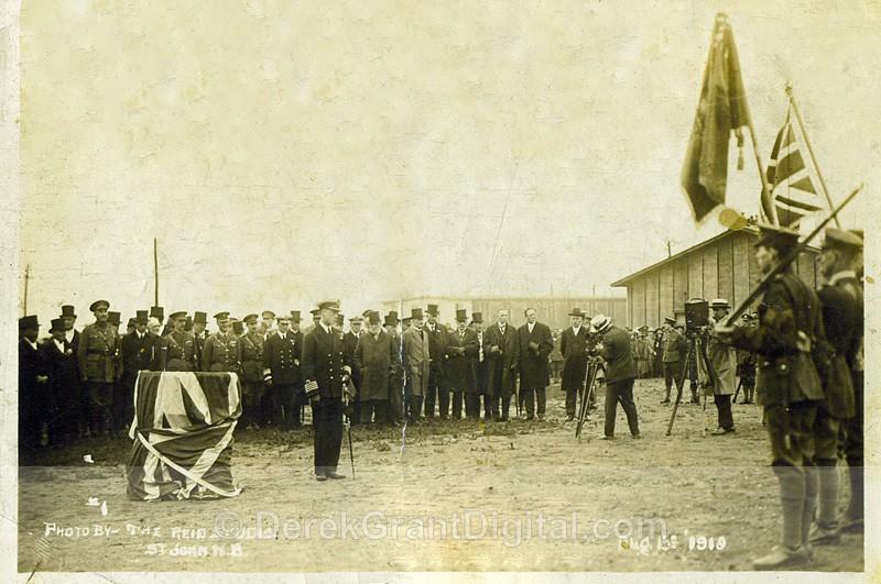 HRH Prince of Wales Visit to St. John New Brunswick August 15th/1919 - Historic New Brunswick