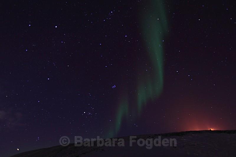 Northern light by Mine 7 4865 - Polar night