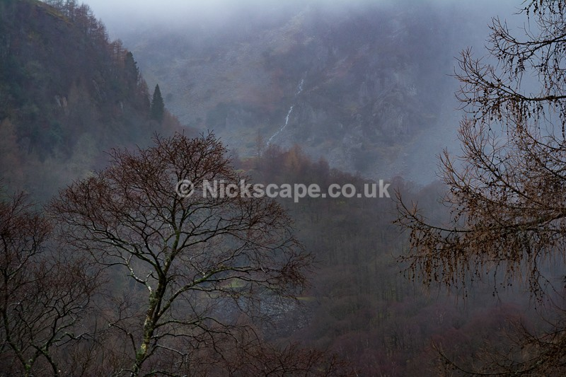 Winter Storm in Borrowdale | Lake District Photography