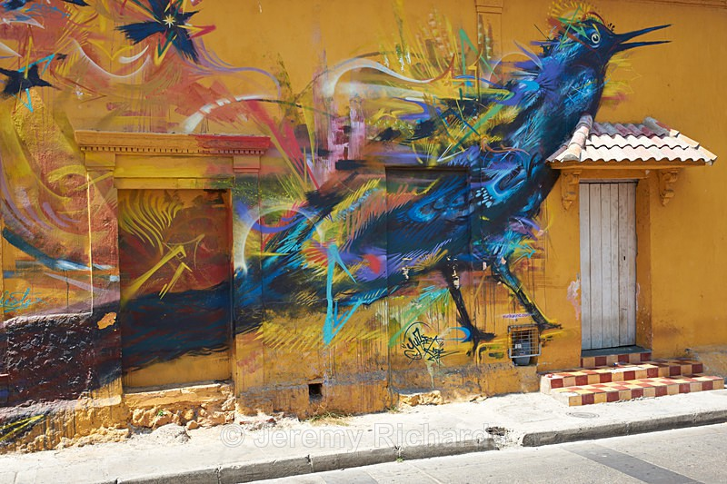 Cartagena Street Art - Colombia