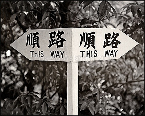 Which way? - Humour