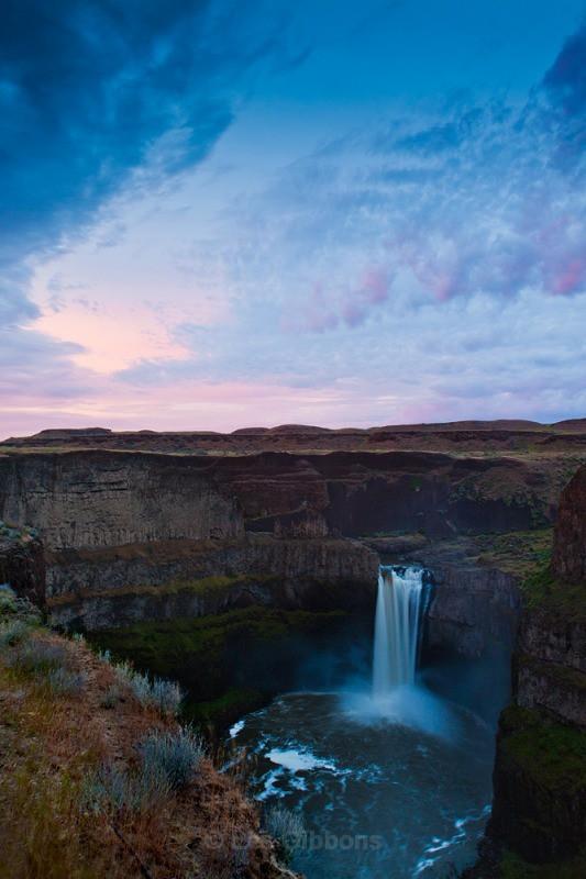 Palouse Falls sunset - Palouse