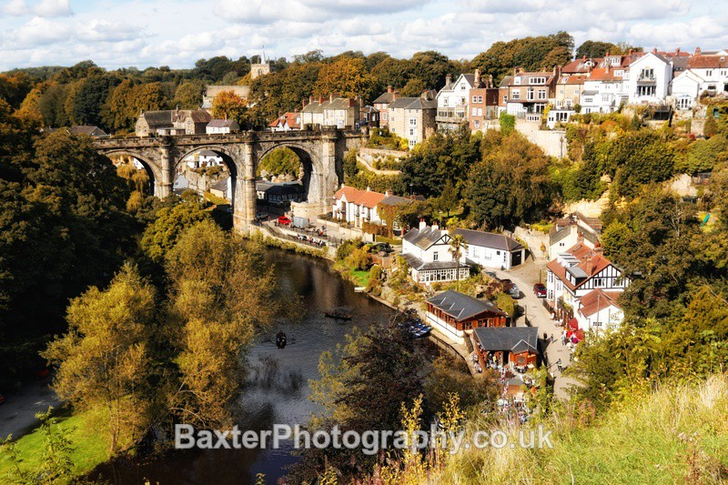 Knaresborough As Autumn Approaches - Views Around Harrogate: