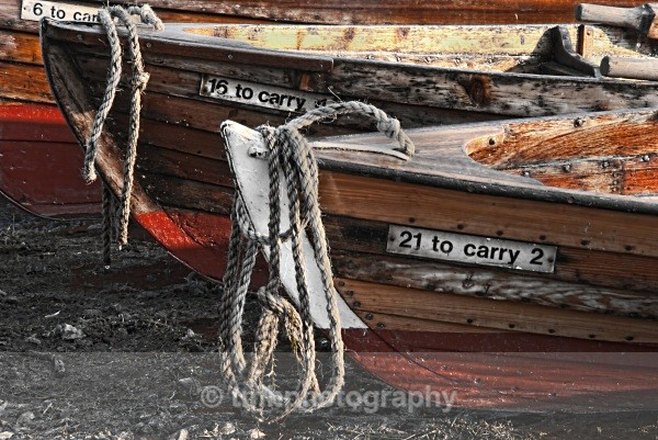 Detail on Boats. - Digital Photo's Enhanced