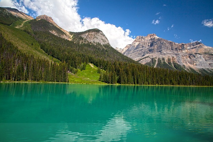 The Emerald lake - BC and the Rockies,Canada 2013