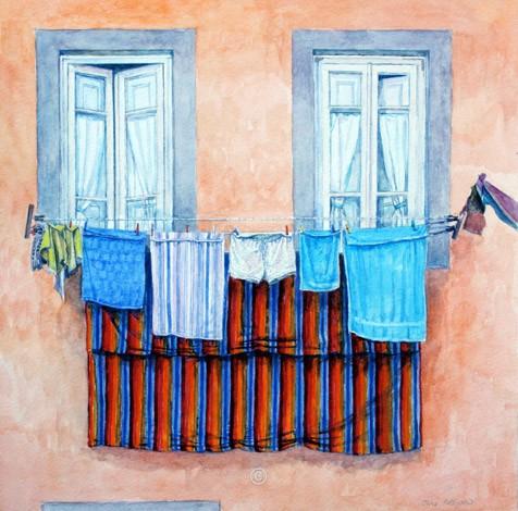 Two Windows, Lucca. - Italia