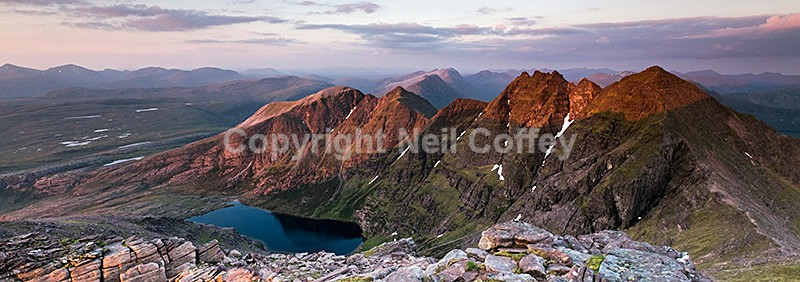 An Teallach and Fisherfield Forest, Highland2 - Panoramic format