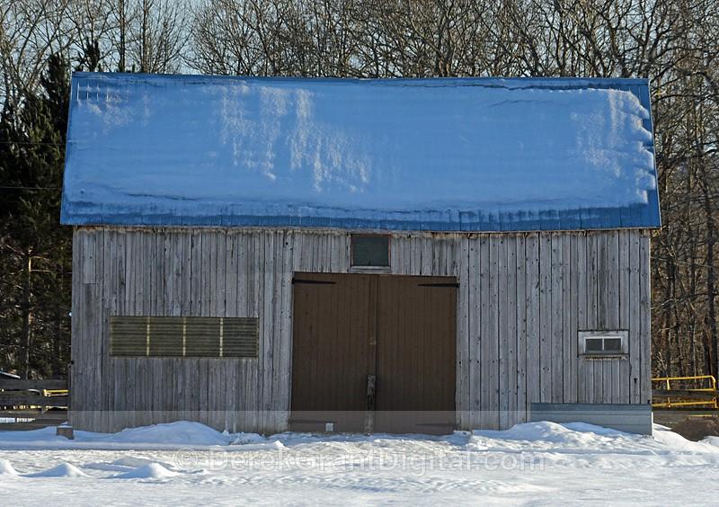 Old Barns New Brunswick Canada - Old Barns & Buildings