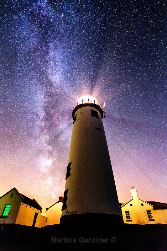 Milky Way at Fanad Lighthouse - Ireland by Night