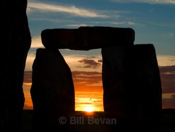 Sunset 1 - Stonehenge