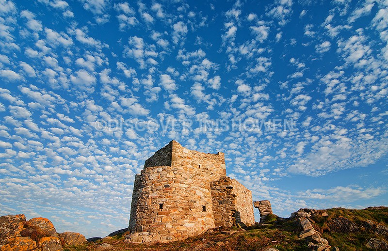 Carrickabraghy castle, Isle of Doagh - Inishowen peninsula