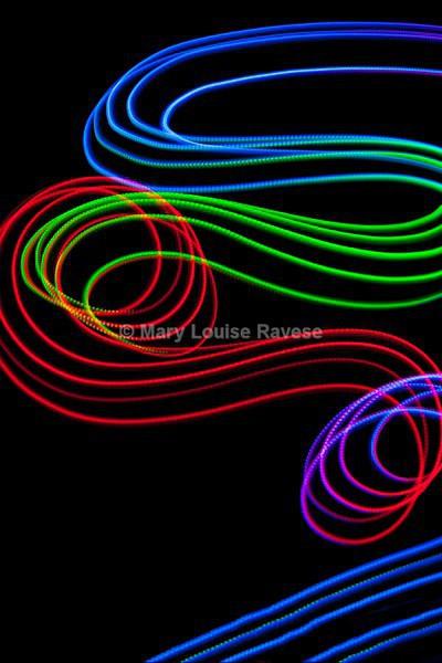 Luminous Swirl - Creative and Abstract