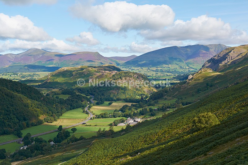 Legburthwaite & High Rigg - Lake District Viewpoint - Lake District National Park