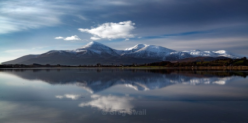 Mournes in Winter - The Mourne Mountains (Winter)