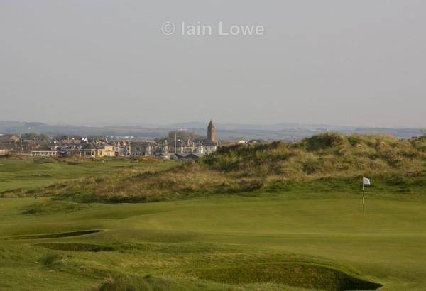 Prestwick 11th Green par 3 - Prestwick Golf Links