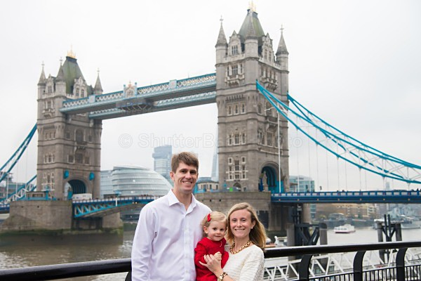 Lifestyle Family Photographer London | Tower Bridge