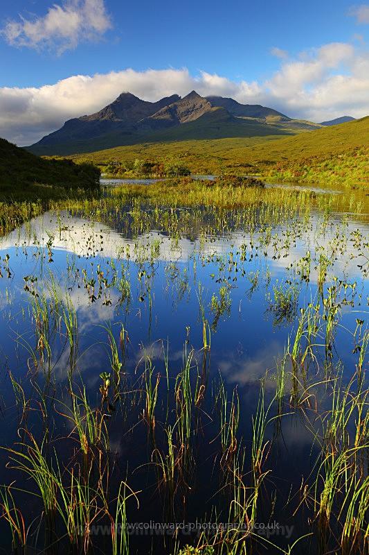 Loch Nan Eilean and the Black Cuillins, Skye.      Ref 6147 - West Highlands