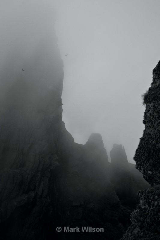 skellig michael misty col - Land and seascapes