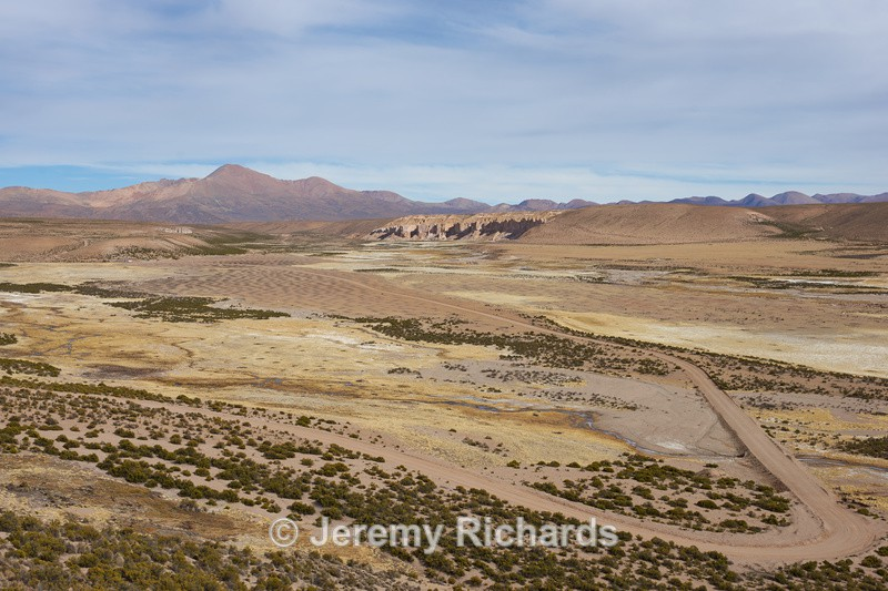 Plain on the Altiplano - Altiplano of North-East Chile