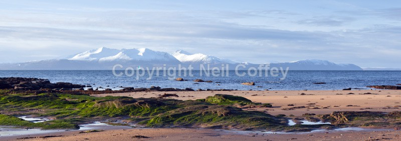 Isle Of Arran, Firth Of Clyde - Panoramic format