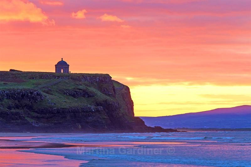 Mussenden Sunset - Ireland by Day