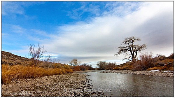 Carson River - below lahontan Dam - Nevada (mostly) Landscapes
